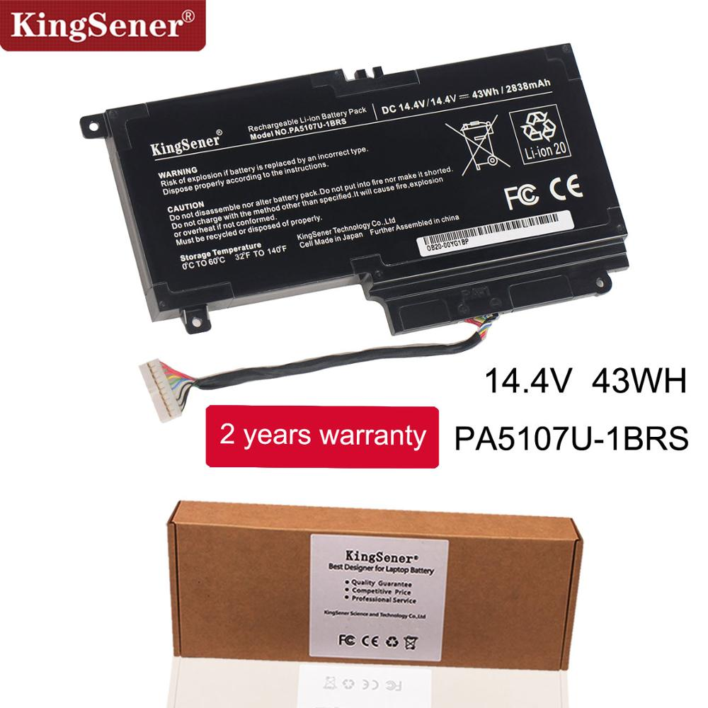 KingSener PA5107U PA5107U-1BRS Bateria para Toshiba Satellite L45 L45D L50 S55 P55 L55 L55T P50 P50-A P55 S55-A-5275 S55-A5294