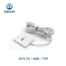 External Wifi Antenna 4G LTE 3G for Huawei ZTE TS9 SMA Male Aircard Router Modem Aerial Omni Antena  Z111 W4GTSJ30(73X53)