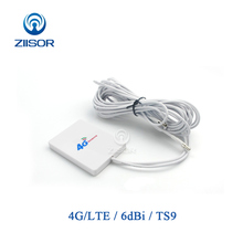 Externe Wifi Antenne 4G LTE 3G für Huawei ZTE TS9 SMA Männlichen Aircard Router Modem Antenne Omni Antena z111 W4GTSJ30 (73X53)