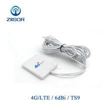 Harici Wifi anten 4G LTE 3G Huawei ZTE TS9 SMA erkek Aircard yönlendirici Modem anten Omni anten z111 W4GTSJ30 (73X53)
