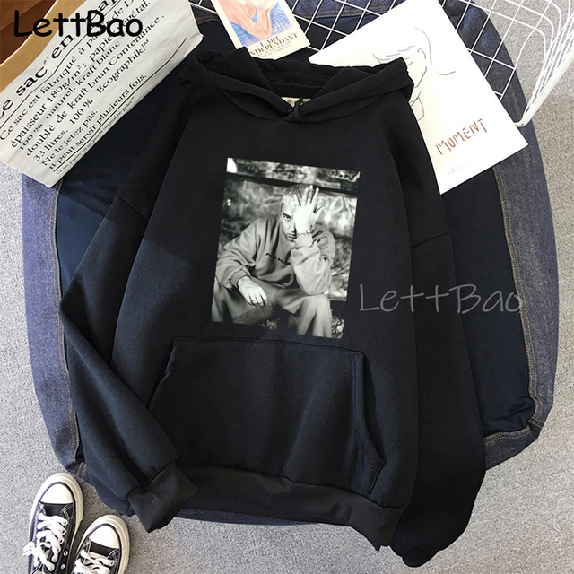 Eminem Cool Black Unisex Hoodies Sweatshirt Hip Hop Rap Punk Style Tops Pullover HipHop Rock Gothic Winter Coat Women Men Hoodie 2
