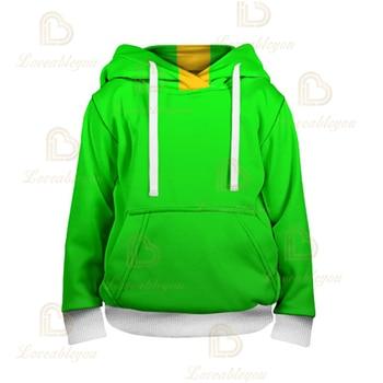 3T To 16T Children's Sweatshirt 3D Game Stars Leon Hoodie Anime Hoodie Sweatshirts 4t to 16t kids