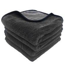 40X80Cm Super Absorberende Microfiber Wasstraat Handdoek Professionele Car Cleaning Drogen Handdoeken Doek Voor Auto Ramen Scherm