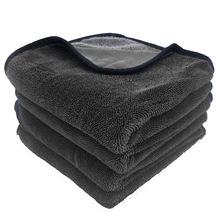 40x80cm asciugamano per lavaggio auto in microfibra Super assorbente asciugamano per pulizia auto professionale panno per asciugamani per vetri auto