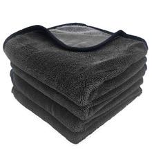 40x80cm super absorvente microfibra toalha de lavagem de carro profissional limpeza de carro toalhas de secagem pano para janelas do carro tela