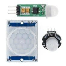 HC-SR501 SR505 SR602 Отрегулируйте пироэлектрический инфракрасный PIR датчик движения модуль детектора