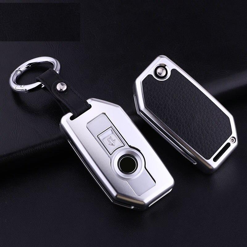 Paquet de télécommande de démarrage en un clic en alliage d'aluminium porte-clés de démarrage sans clé pour BMW K1600 R1200GS R1200R R1200RT LC