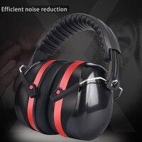 Tactical Ajustável Cabeça Earmuff Alta Qualidade Anti-Ruído Proteção Auditiva Caça Estudo e Trabalho de Redução de Ruído do Sono Ouvido Proteger