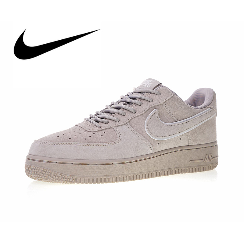 US $80.0 20% OFF|Original Authentic Nike Air Force 1 07 LV8 Suede Men's Skateboarding Shoes Outdoor Sneakers sport Good Quality 2018 New Arrival in