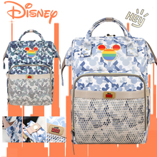 Disney Baby Diaper Bags Usb Large Capacity Mummy Backpack Camouflage Waterproof Mummy Maternity Nappy Bag Baby Stroller Bags New lagaffe nappy bags large capacity baby diaper bag fashion maternity mummy bags and waterproof baby stroller bag wholesale