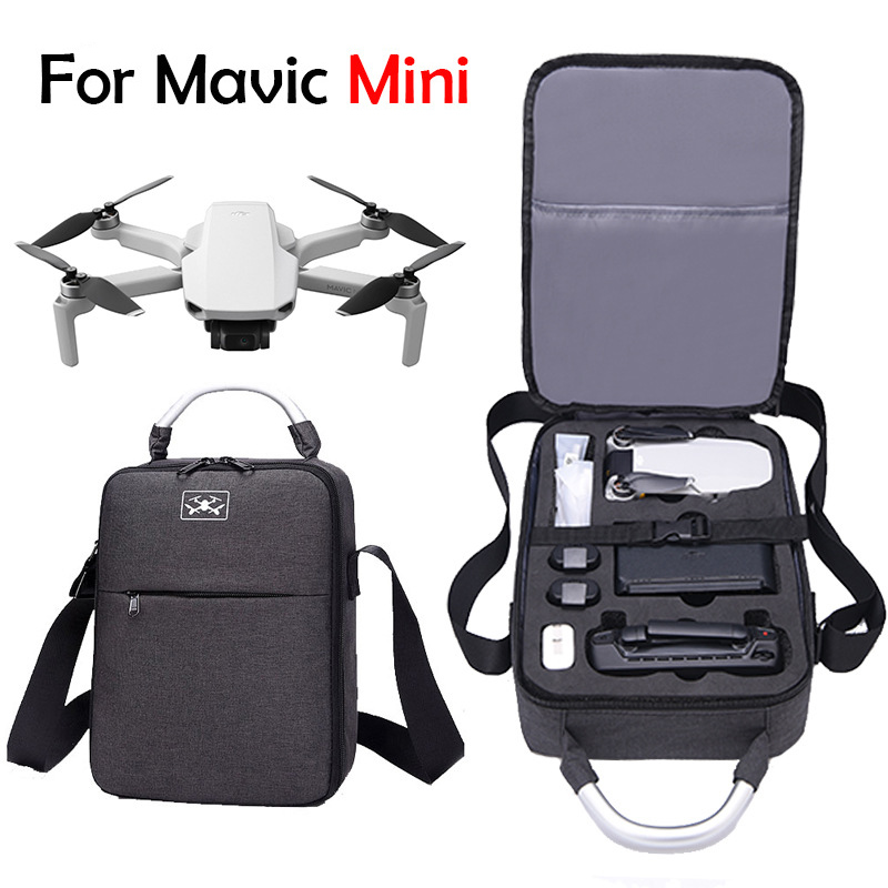 Portable Storage Bag Travel Case Carring Shoulder Bag For DJI MAVIC MINI Drone Handheld Carrying Case Bag Waterproof Case