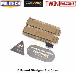 Image 2 - MILITECH twinfalcon TW 500D Delustered Cordura Molle 6 патронов бак дробовик платформа патронташ сумка эластичная лента патронташ