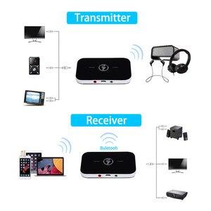 Image 4 - 2020 Bluetooth 5.0 nadajnik dźwięku odbiornik Stereo Adapter bezprzewodowy 3.5mm 3.5 AUX Jack RCA klucz USB do słuchawek samochodowych PC TV