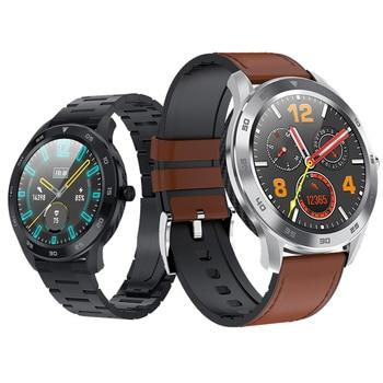 Sports Tracker Smartwatch 2019 ip68 Waterproof ECG PPG HRV Cardio Heart Rate Monitor DT98 Phone Smart Watch PK Huawei Watch GT 2