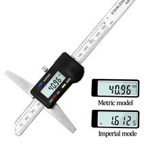 Vernier Caliperดิจิตอลอิเล็กทรอนิกส์0 150มม.ไมโครมิเตอร์วัดอัตโนมัติเครื่องมือวัดความลึกLCD Digital Scaleไม้บรรทัด