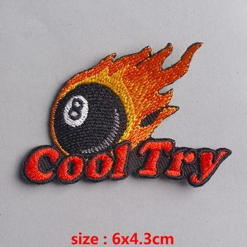 Pulaqi College Badge Patches Jeans Stripes Diy Backpack For Clothing Sticker Embroidery Clothing Patch Clothing repair patch H image