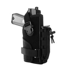 Pistol Holster Magazine-Pouch Airsoft Belt Hand-Gun Right-Hand Military-Nylon Tactical