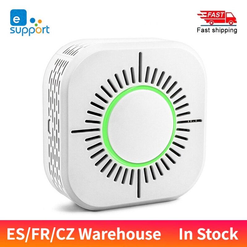EWeLink детектор дыма Сенсор Беспроводной 433 МГц пожарной безопасности охранная сигнализация Сенсор работать с Sonoff RF Bridge Smart Home