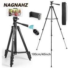 Trépied léger pour appareil photo et téléphone Portable, avec Bluetooth, pour Selfie, enregistrement vidéo en direct, photographie