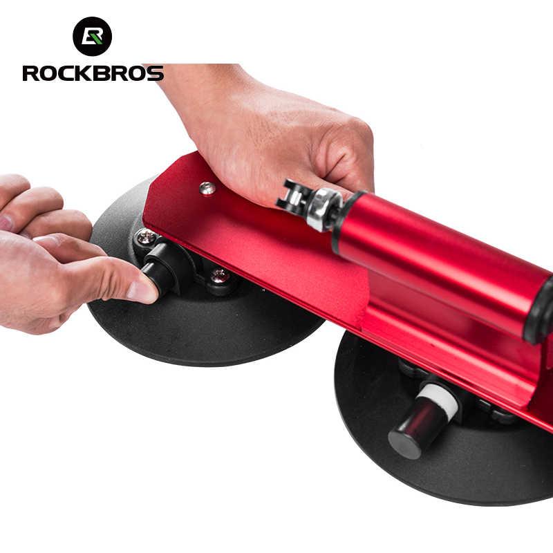 ROCKBROS vélo porte-vélo vélo voiture supports ventouses coffre de toit vélo support de toit rapide vtt montagne route vélo accessoire