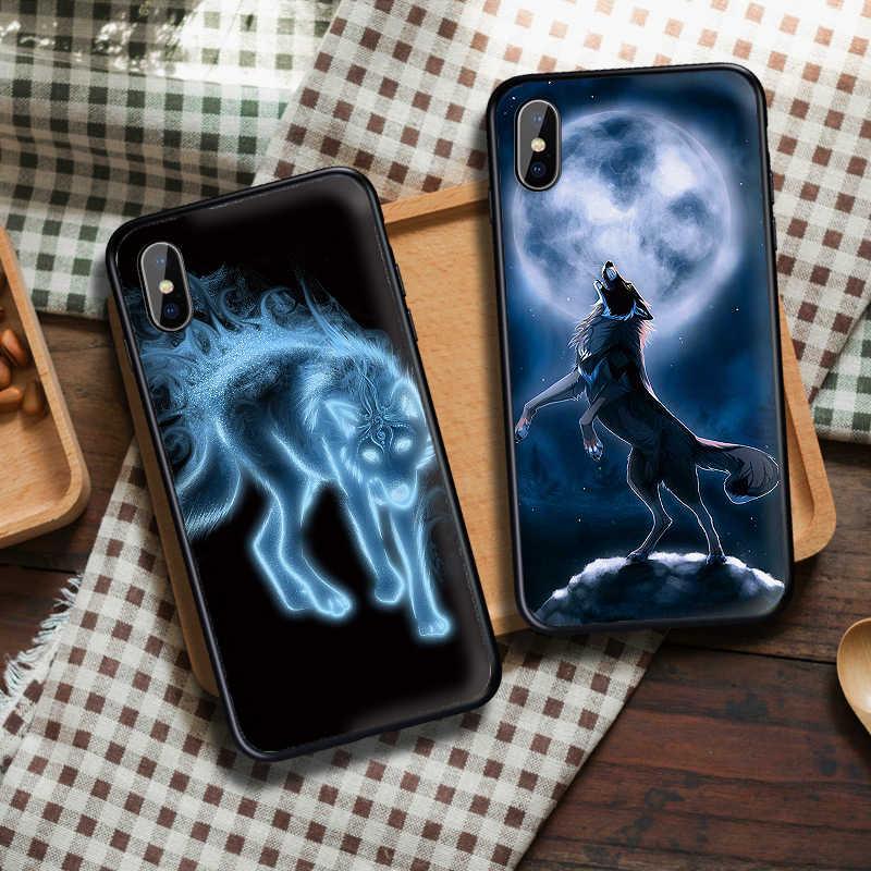 Serial telewizyjny Teen Wolf Team Case dla iPhone XS Max XR miękki silikonowy pokrowiec dla iPhone X XS 6 6S 7 8 Plus Coque Funda