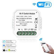 Tuya Smart life app WiFi Smart Light Switch Diy Breaker