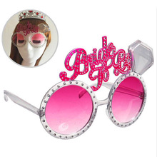 New hot bachelor party bride to be glasses single dance prom Dress up props