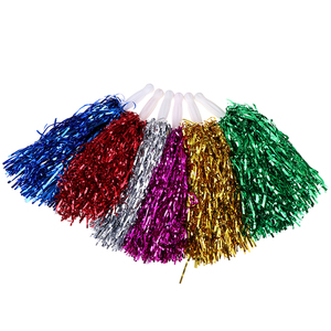 1PC Cheer Dance Sport Competition Cheerleading Pom Poms Flower Ball For For Football Basketball Match Pompon Children Use(China)