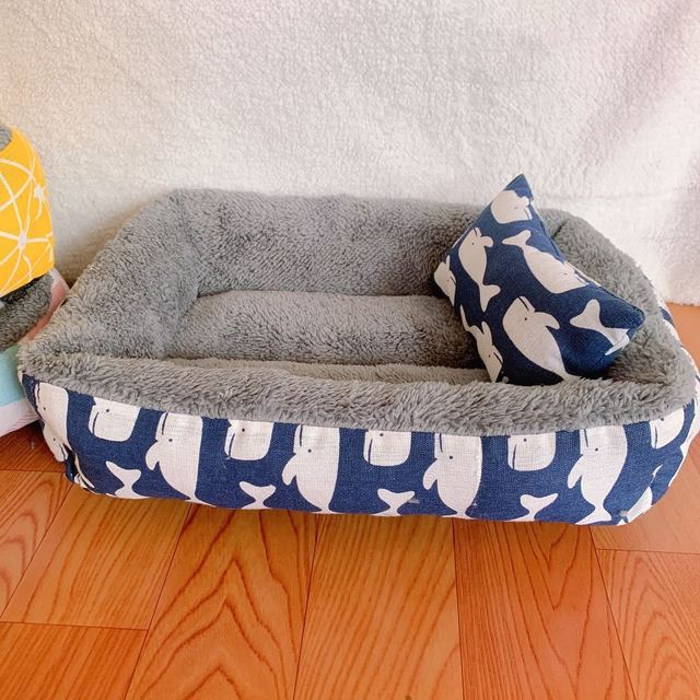 Dog Bed Cotton Dog Bed Waterproof Nest Dog Baskets Mat Soft Pet Bed Autumn Winter Warm Cozy Dog Cat House Pet Products Cat Bed 3