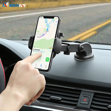 Car Phone Holder Windshield Gravity Sucker Mount Adjustable for in Stand For iPhone 11 Pro Max X Telefon Tutucu