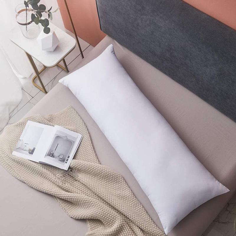 Travesseiro longo do sono, 34*100/40*120cm branco não-tecido de tecido, travesseiro para dormir travesseiro acessório para casa