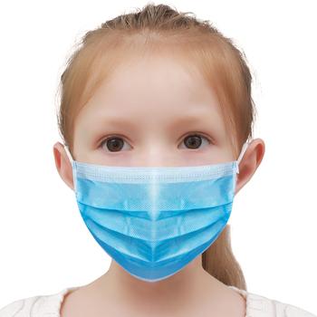 Dziecko certyfikowana chirurgiczna czarna maska chirurgiczna Masque jednorazowe zatwierdzone maseczki medyczne dla dzieci Kid usta czapki Mascarillas tanie i dobre opinie TONGYUAN YY T0969-2013 Z Chin Kontynentalnych 10 50 100 200PCS TY-WC-Kid 66 Non-woven fabric + 34 melt-blown fabric 145mm*90mm