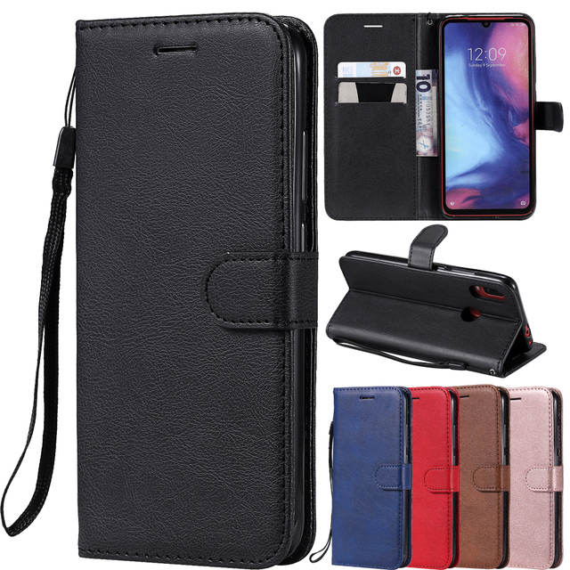 PU Leather Flip Wallet Case For Huawei P40 P30 P20 Pro P10 P9 P8 Lite 2017 P Smart 2019 Y5 Y6 Y7 Prime Y9 2019 2018 Cover Case 1