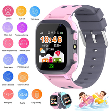 Smart Uhr Kinder Video Anruf Android 4,0 Wasserdichte Uhr Smart Uhren Verbunden kinder Smart Uhr Handgelenk Touchscreen