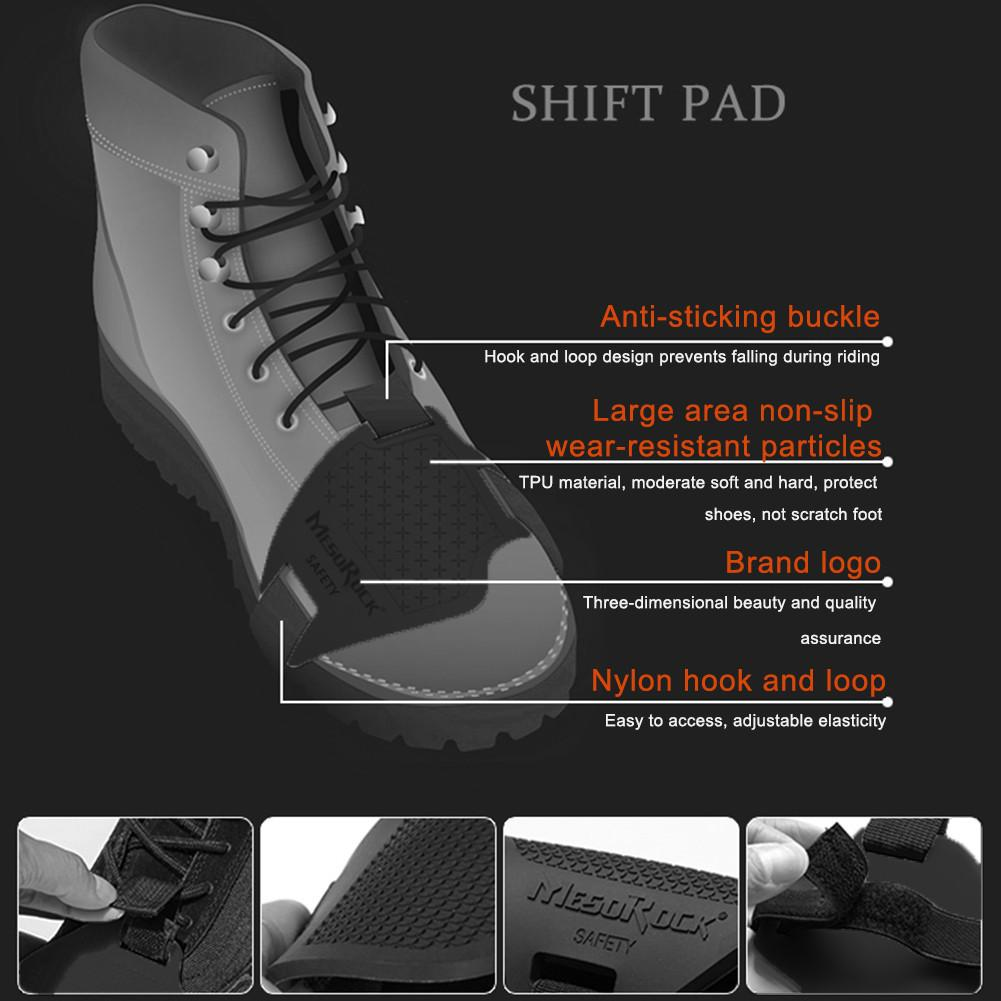 Motorrad Shift Pad Non-slip Silikon Schuhe Abdeckung Tragen-resistant Protective Getriebe