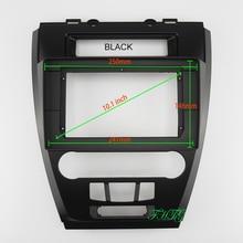 10.1 calowy samochodowy sprzęt Audio rama nawigacja GPS Panel powięzi samochodowy odtwarzacz dvd rama z tworzywa konsola nadaje się do 2010 FORD FUSION
