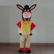 Custom donkey mascot costume character adult size