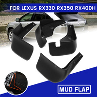 1 Set For Lexus RX330 RX350 RX400H 2004 2009 Front Rear Car Mud Flaps Mudflaps Mudguards Splash Guard for Fender Accessories