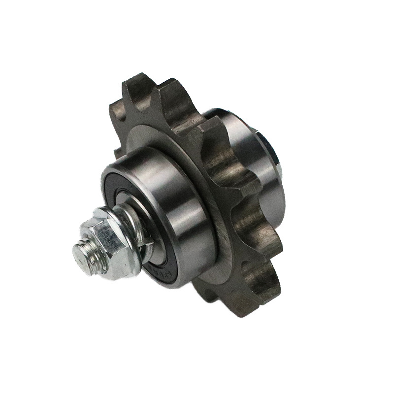 Motorcycle Chain Automatic Tensioner with Three Bearing Backup Wheels dao lian qi Alone Gear Bearing Set