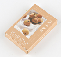 L69- Lovely fruit paper greeting card lomo card(1pack=28pieces)
