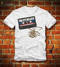 BOARDRIPPAZ T SHIRT 80er 80s RETRO CASSETTE PUNK MIX TAPE KASSETTE OLDSCHOOL POP Short  Casual Cotton shirt men