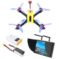 Owl215 Wheelbase 215mm FPV Race DIY RC Quadcopter PNP BNF RTF with F4 Flight Controller 1200TVL FPV Camera VTX Drone