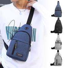 Men Waterproof Casual  Chest  Bag Portable One-shoulder Pouch For Outdoor