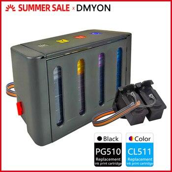 DMYON CISS Replacement for Canon PG510 CL511 PIXMA MP230 MP240 MP250 MP260 MP270 MP280 MP282 MP480 MP490 MP495 MP499 Printers hisaint 3pack pg510 cl511 compatible ink cartridge pg 510 cl 511 for canon pixma ip2700 mp240 mp250 mp260 mp270 mp280 printer