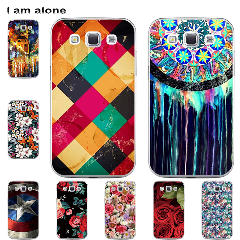 Phone Cases For <font><b>Samsung</b></font> <font><b>Galaxy</b></font> <font><b>Win</b></font> <font><b>I8550</b></font> I8552 4.7 inch Soft TPU Mobile Bags Cute Cartoon Printed Cover Free Shipping image