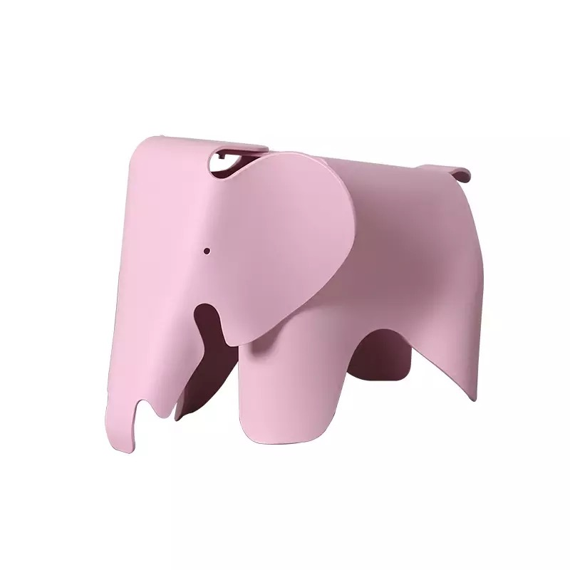 Children's Stool Household Creative Plastic Chair Elephant Chair Cartoon Stool Danish Color Kindergarten Toy Chair Baby