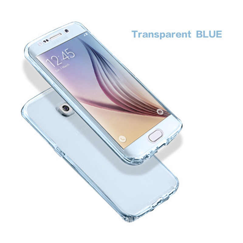 360 غطاء كامل واقية جراب هاتف للصدمات ضئيلة لينة سيليكون TPU حافظة لهاتف huawei P30 P20 برو حالة وقائية