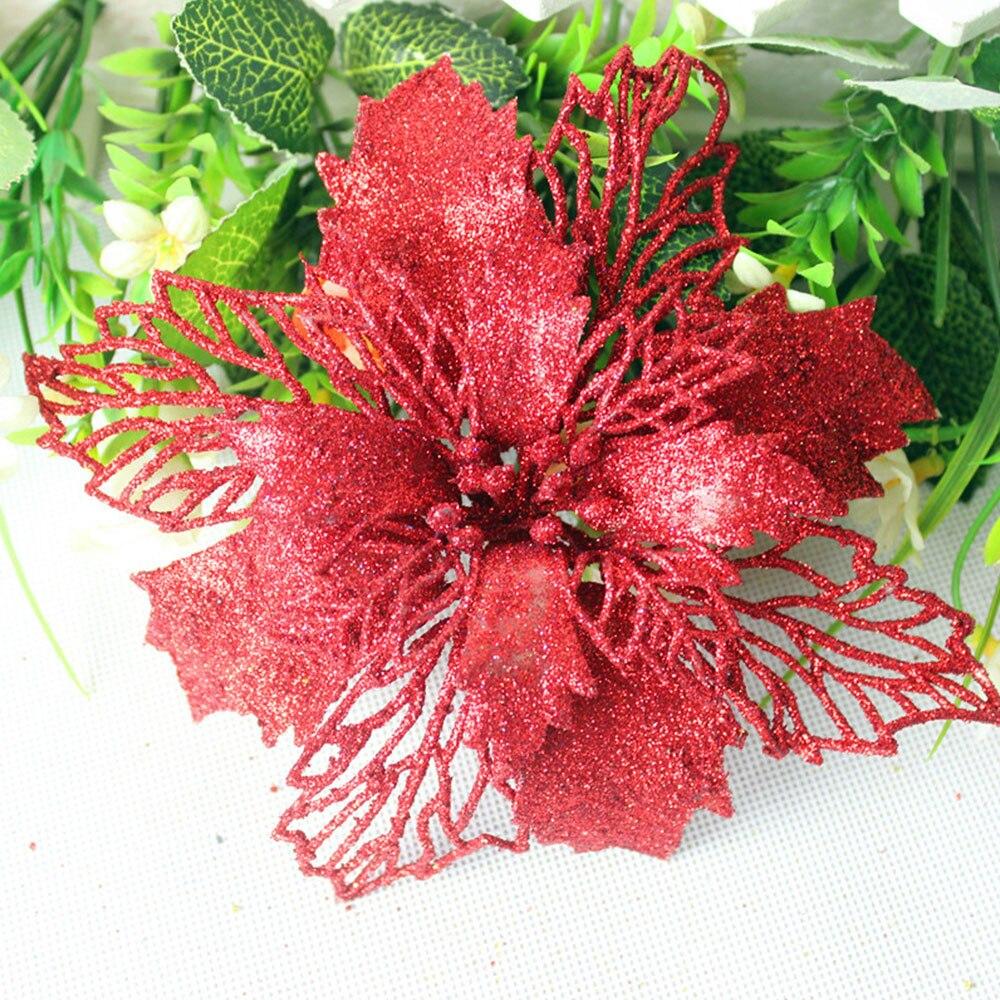 Цветение богатое букеты искусственной гортензии искусственные цветы, шелковые цветы розы декоративный цветок свадебные аксессуары - 2