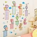 Настенные Стикеры с воздушными шарами, Мультяшные настенные наклейки «сделай сам» с умножением, для детской комнаты, спальни, детской комна...