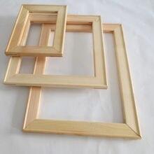 Quadro de madeira para pintura a óleo da lona preço de fábrica quadro de madeira para pintura a óleo da lona natureza diy quadro quadro interno y